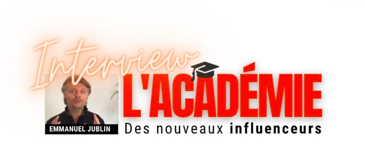 l'Académie des Nouveaux Influenceurs